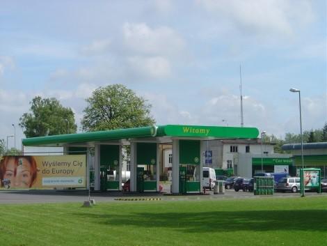 Stacja paliw BP