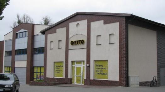 Adaptacja istniejącego obiektu pod sklep  handlowo-usługowy Netto