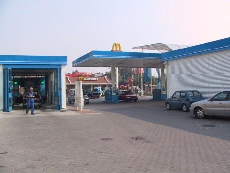 Przebudowa stacji paliw Aral