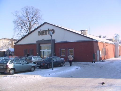 Obiekt handlowo-usługowy Netto